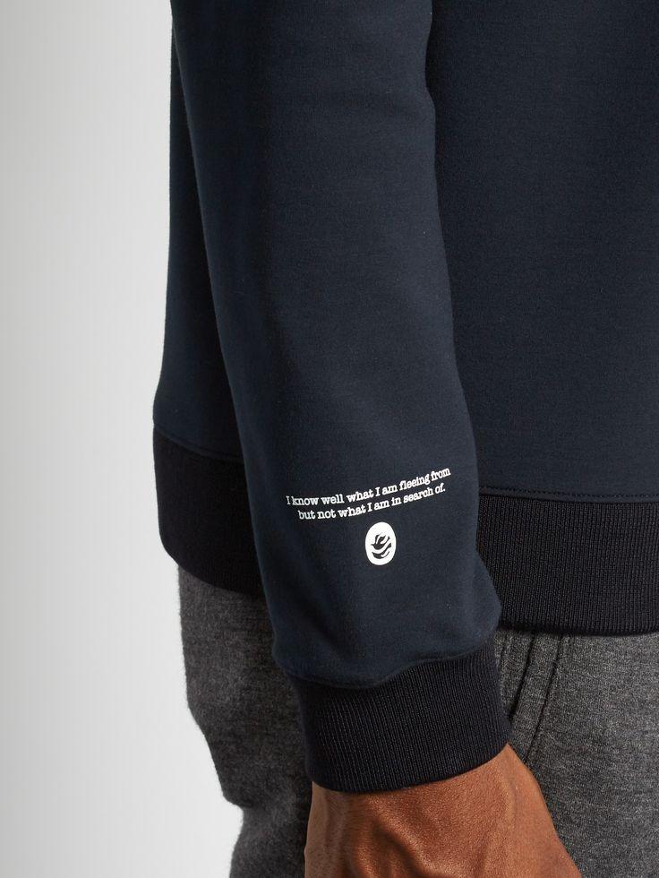 Leather-appliqué cotton-blend sweatshirt | OAMC | MATCHESFASHION.COM US
