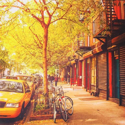 Autumn in the East Village of Manhattan, New York City by... | New York City Feelings | Bloglovin'