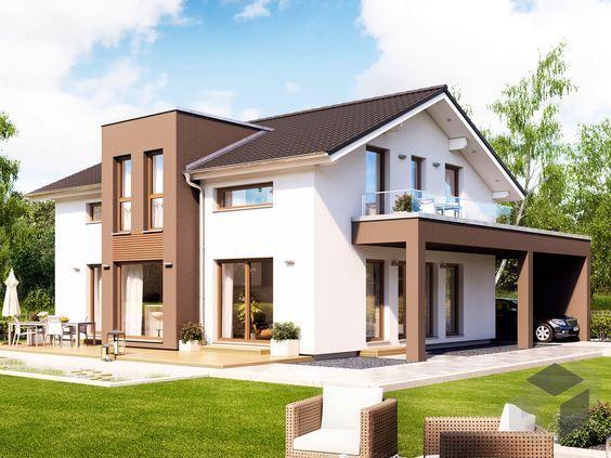 Perfekt Dieses Und Viele Häuser Mehr Gibt Es Auf Fertighaus.de U2013 Ihr Hausbau Aus  Einer