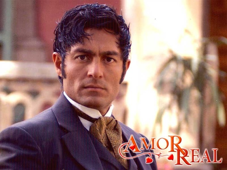 "Fernando Colunga in ""Amor Real"" my favorite soap."