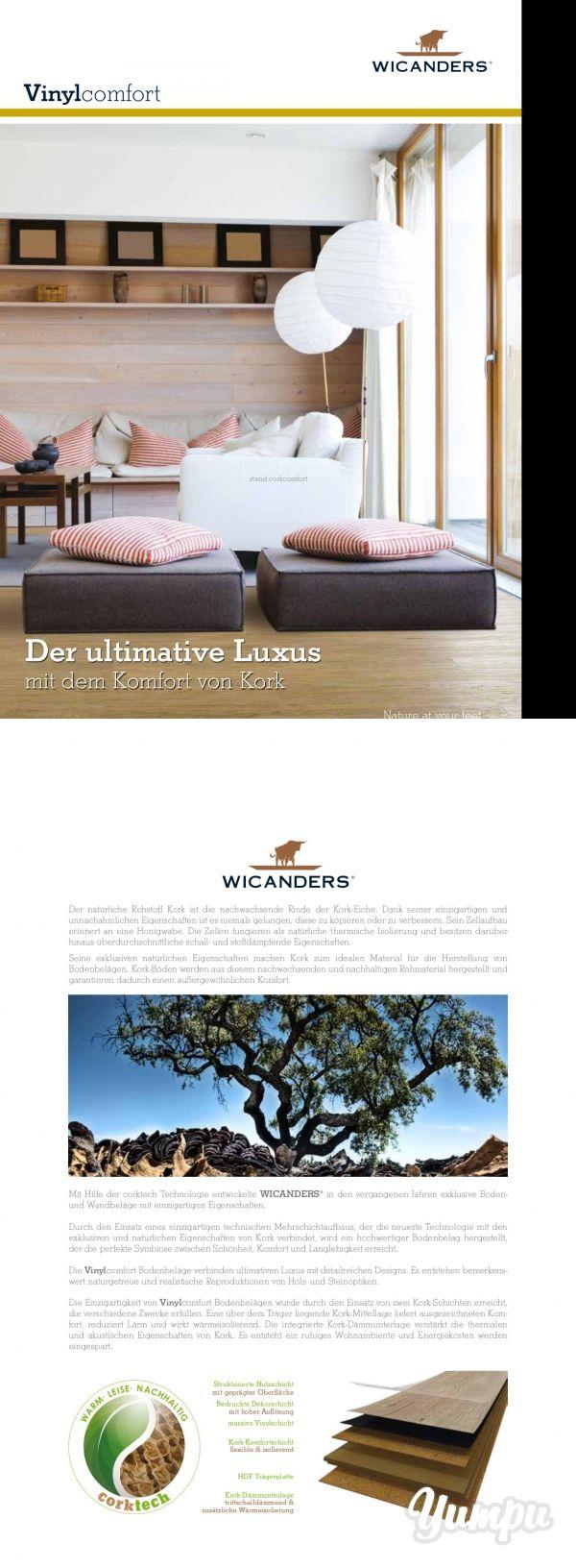 Wicanders Vinylcomfort - Der ultimative Luxus mit dem Komfort von Kork. Entdecken Sie die Vielseitigkeit von Vinylbelägen.
