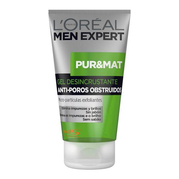 Pure&Mat Gel desincrustante anti-poros obstruidos. Cada día, tu piel se torna grasosa, brillosa y los poros se obstruyen…¡haz algo!