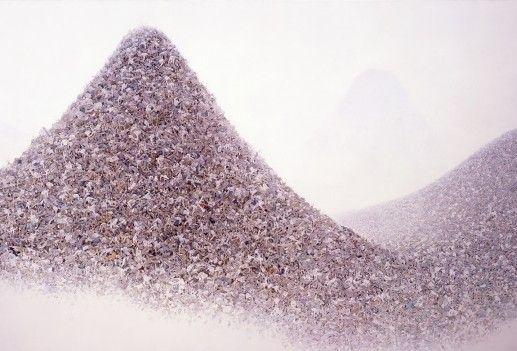 Makoto Aida, 'Ash Color Mountains'