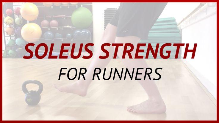 Soleus Strength Exercise for Runners