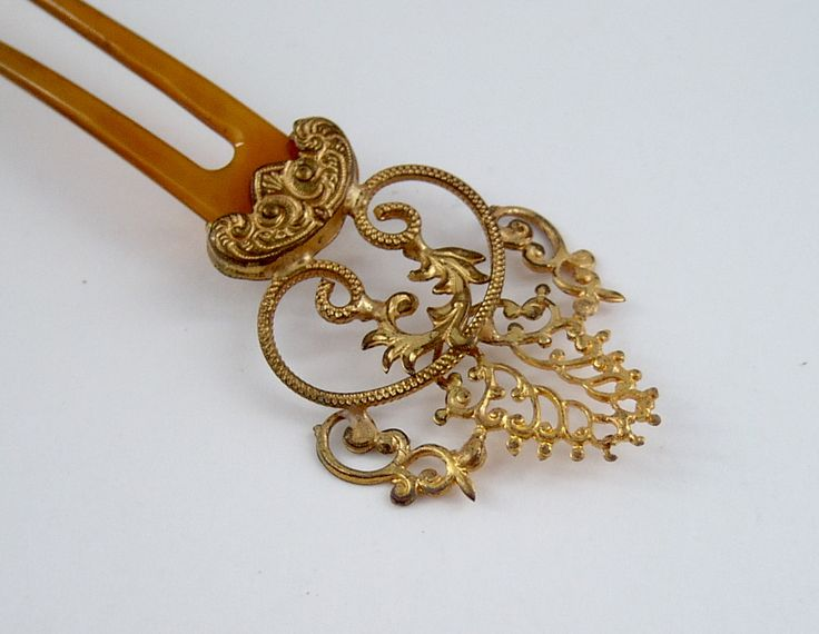 1094 best antique and new hair combspins images on pinterest antique pinchbeck horn filigree hair comb a lovely little filigree hair comb made of horn urmus Choice Image