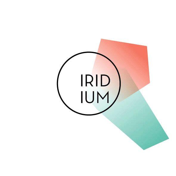 Social Netzwerk »Iridium« #CorporateIdentity #CorporateDesign #Logodesign #modular #Bachelorarbeit von Miriam Schmalen
