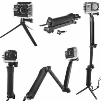 Buy Universal Waterproof 3-Way Monopod For GoPro Hero 4/2/3/3+/SJCAM SJ4000/Xiaoyi online at Lazada. Discount prices and promotional sale on all. Free Shipping.