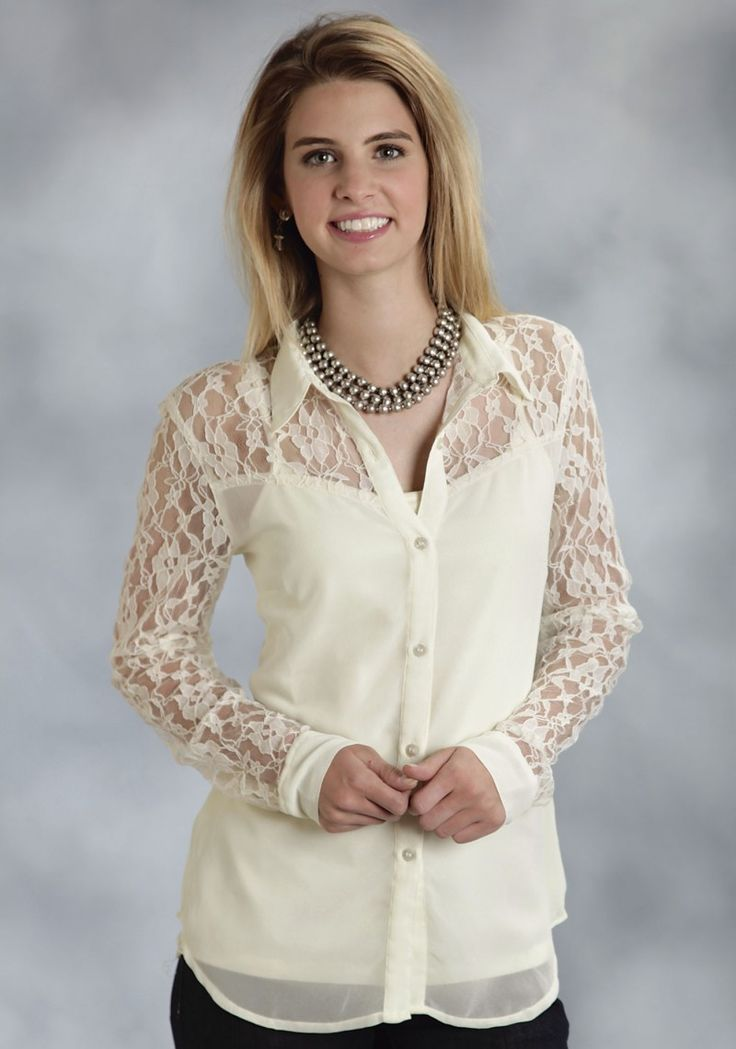 Lace Tops With Sleeves 6