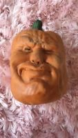 TODD MASTERS vintage 80s FOAM HALLOWEEN PUMPKIN JACK OH LANTERN james SCARY face