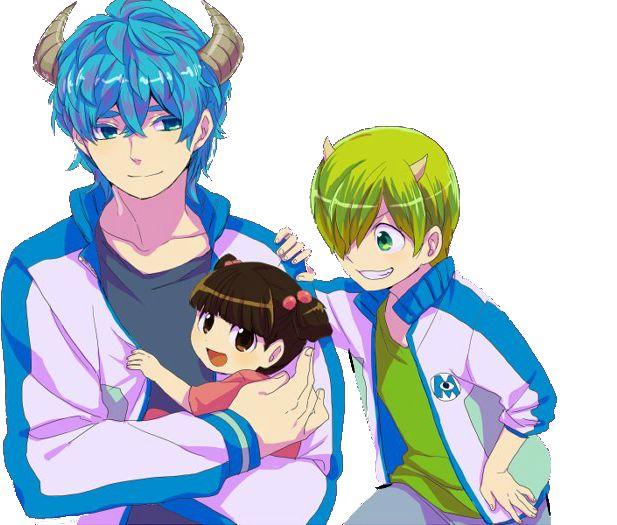 monsters inc anime by dierous.deviantart.com on @deviantART