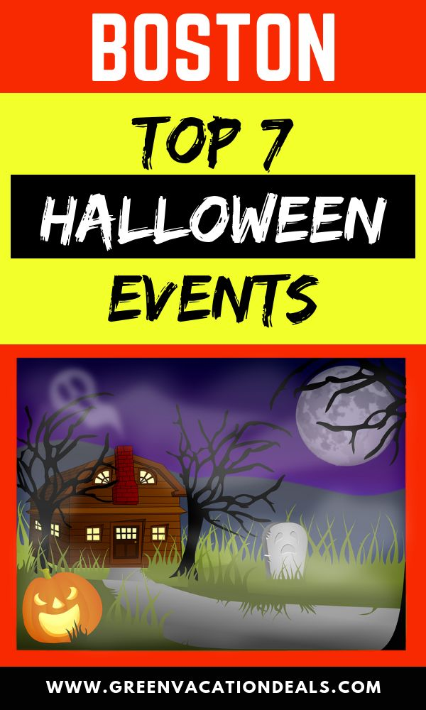 Top 7 Boston Halloween Events Holidays and events Pinterest