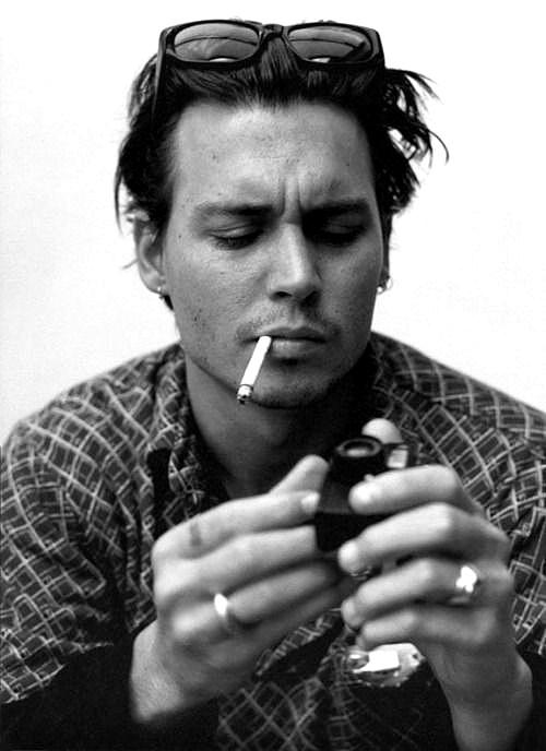 Johnny Depp <3 #Celeb #Hollywood #Portrait