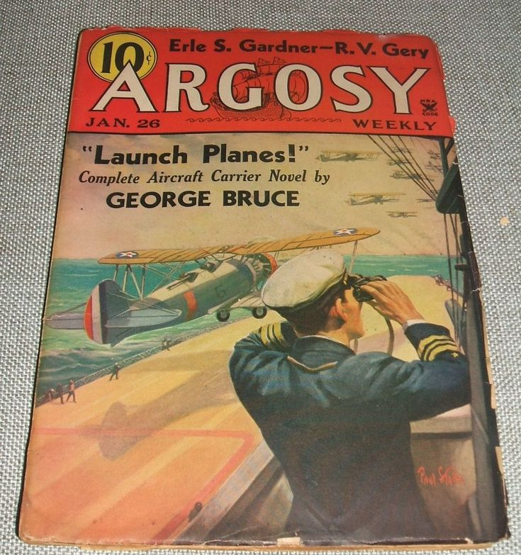 Vintage Issue of Argosy for June 8, 1935 Collectible Pulp  See Listing