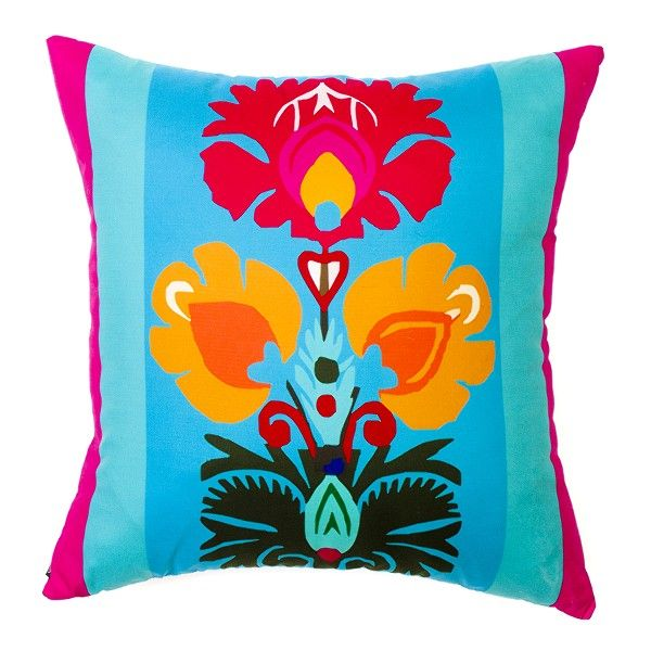 Decorative Pillows inspired painting on glass - Folkstar.pl