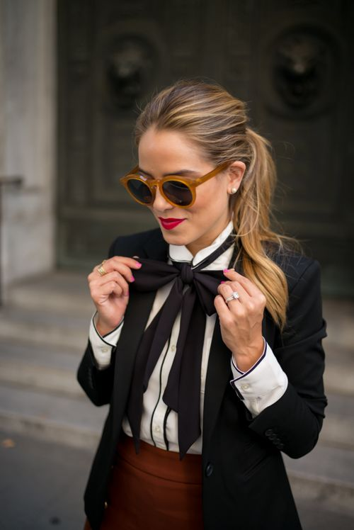 Tailored for Fall,wearing Express