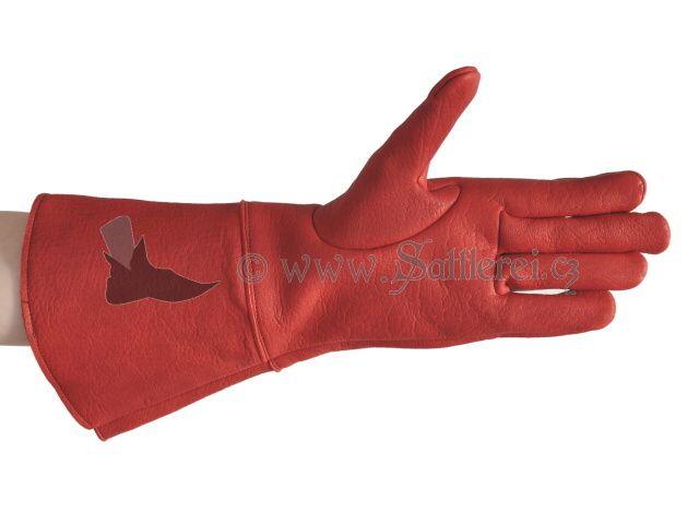 Die Handschuhe werden aus festem feinem Hirschleder hergestellt.