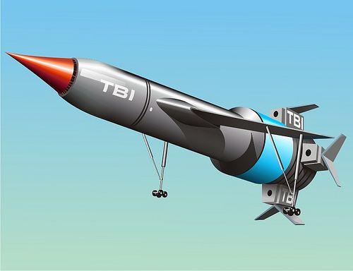 Thunderbird 1 Landing   Kenneth Netzel