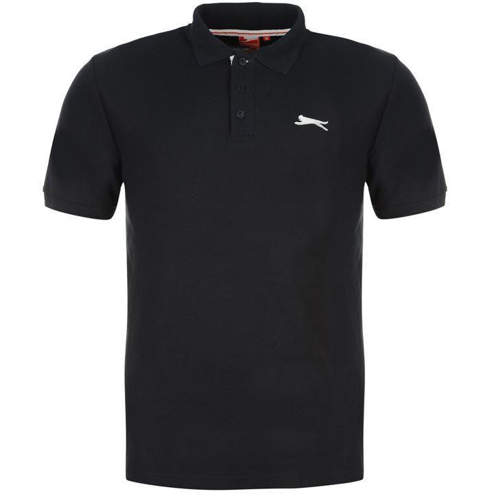 Slazenger | Slazenger Plain Polo Shirt Mens | Mens Polo Shirts