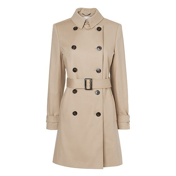 Oston Trench Coat | Coats | Clothing | L.K.Bennett, London