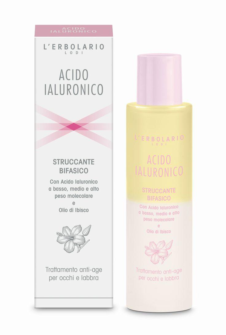 unisci l'utile al dilettevole :D Struccante Bifasico Acido Ialuronico: prezzo consigliato €14.00