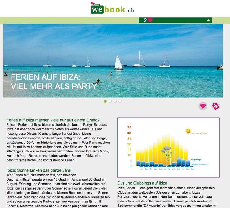 webook.ch Ferien Konfigurator Detail