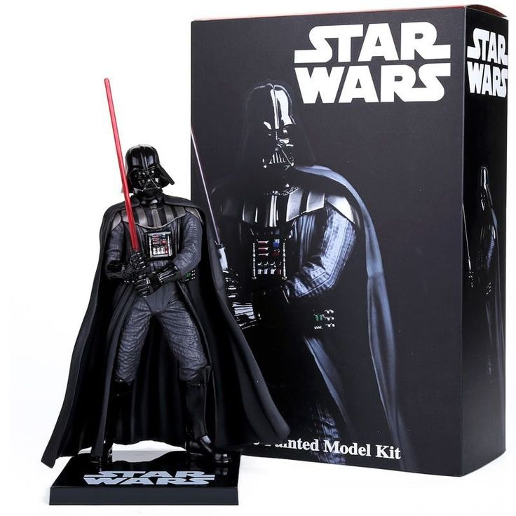 "Crazy Toys Star Wars Darth Vader PVC Action Figure Collectible Model Toy 8""20cm - Shazam Toys"