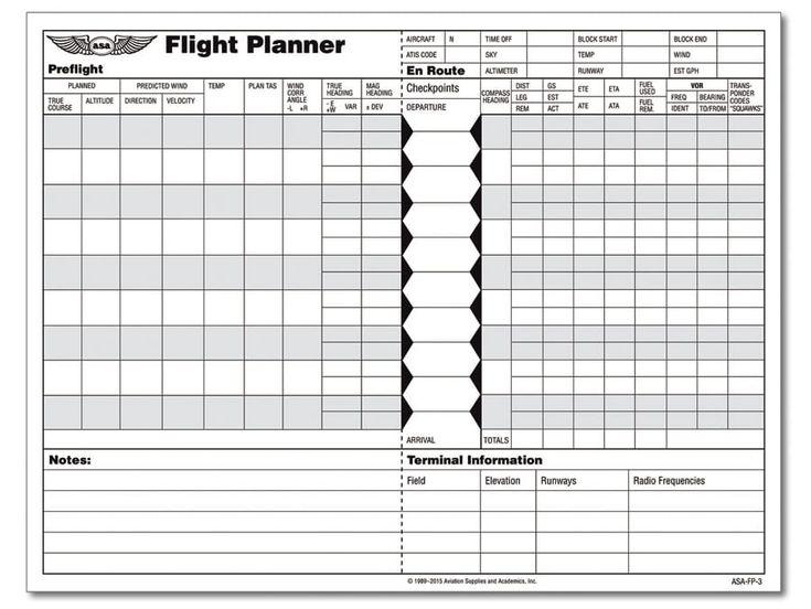 ASA Flight Planner Pad meets new FAA requirements