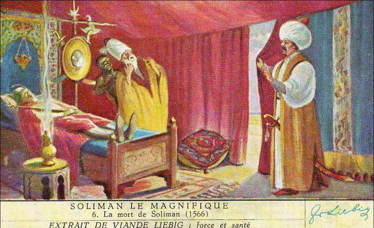 "1. Süleyman, Kanuni 1520 - 1566. Ο θάνατος του Σουλεϊμάν από τους ""κύβους"" Liebig. Πηγή: www.lifo.gr"
