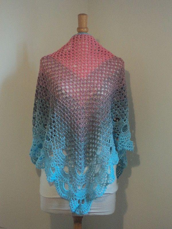 420 best images about crochet chales et etoles modeles gratuits on pinterest. Black Bedroom Furniture Sets. Home Design Ideas