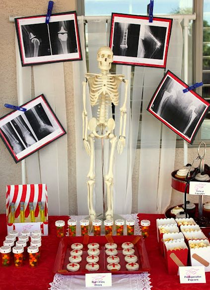 Medica/Nurse/Doctor Graduation party ideas and inspiration