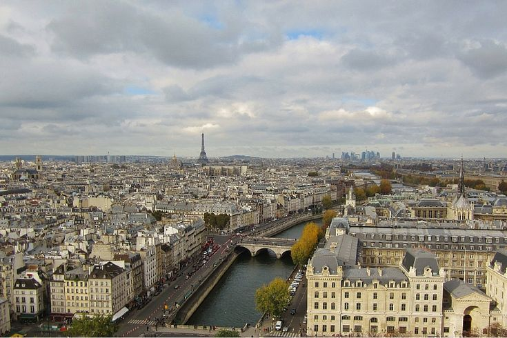 15-Day London Paris Rome Itinerary Paris City View from Tower of Notre Dame