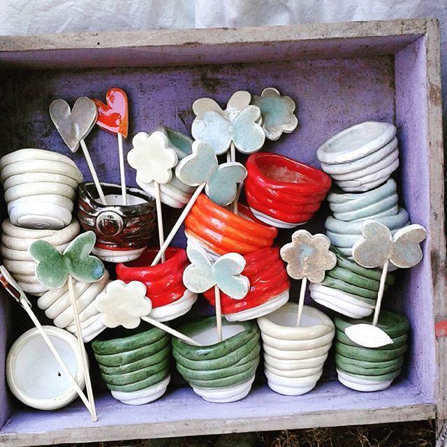 #ninaceramica #ceramics #vasettimpazziti #flowers