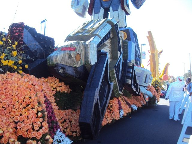 nbc rose bowl parade | VIDEO: Power Rangers Samurai in the Rose Bowl Parade