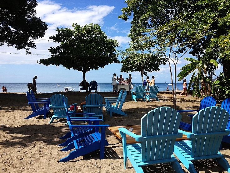 Blue on Blue at Aqua Sport, Playa Hermosa, Guanacaste, Costa Rica.