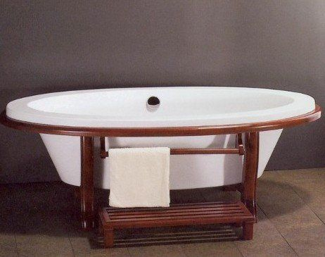 FUJI+ASIAN+INSPIRED+FREE+STANDING+BATHTUB+&+FAUCET+bathtubs+large+bath+tubs