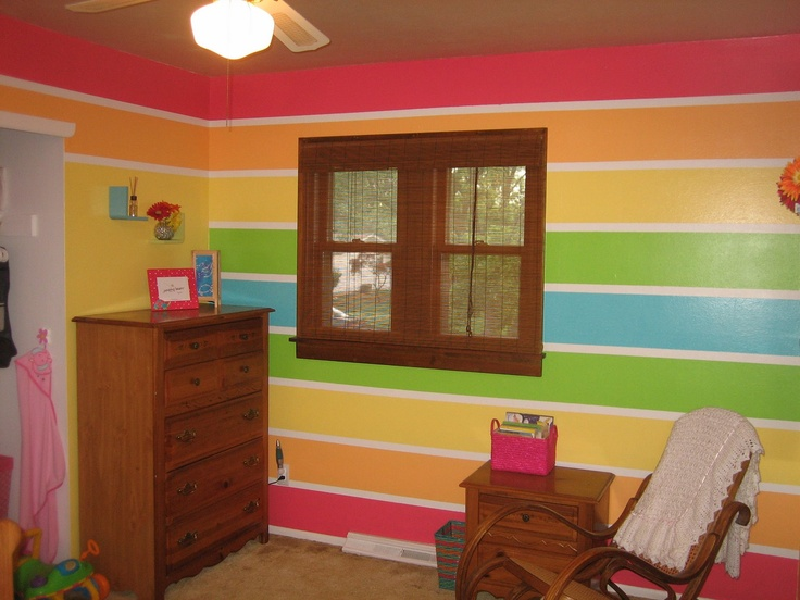 Tour Colorful Beach Inspired Home | Tropical Style, Rainbow Wall And Hgtv