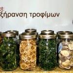 Project: Αποξήρανση τροφίμων
