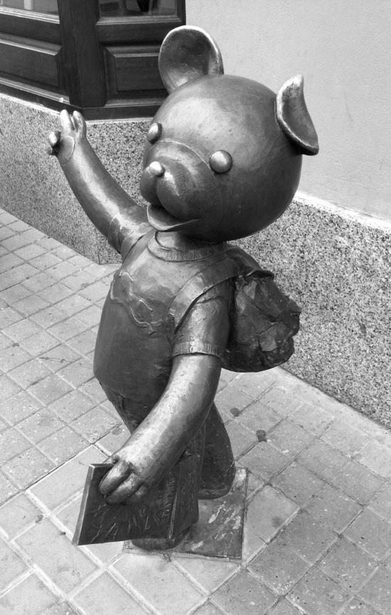 Miś Uszatek  - character from my favorite childhood cartoon Bielsko-Biała