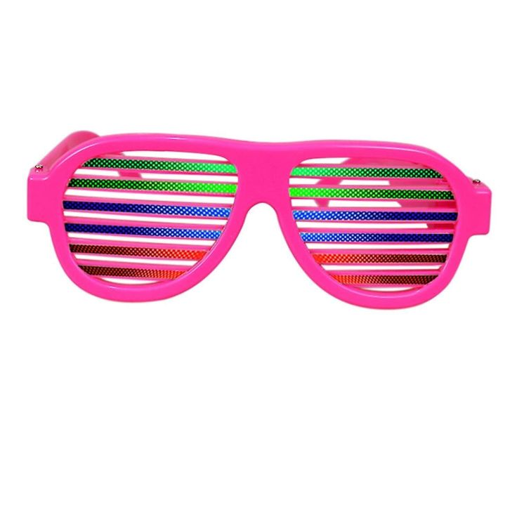Music Amp Sound Activated Led Rave Glasses Usb Rechargeable