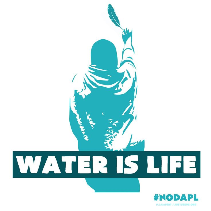 "Image by Nicolas Lampert based on photo by Ossie Michelin  ""Stand with the Standing Rock Sioux blockade of the Dakota Access Pipeline. Here is another design that is copyright free and for the movement. Made it to work on a banner or a flag. (Note the image is based from a orig. photo by Ossie Michelin)"" #nodapl #nopipelines #waterislife #standwiththestandingrock #sacredstonecamp"""