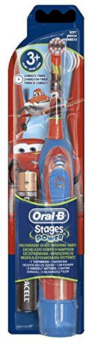 BRAUN ORAL B ADVANCE POWER KIDS BATTERY OPERATED TOOTHBRUSH CARS by Braun #BRAUN #ORAL #ADVANCE #POWER #KIDS #BATTERY #OPERATED #TOOTHBRUSH #CARS #Braun