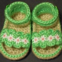 Ruffle Baby Girl Sandals by Marcia Peterson /// 3rdRevolution