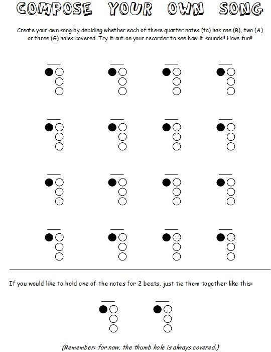 17 Best images about RECORDER IDEAS on Pinterest | Elementary ...