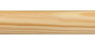 Regency Mix & Match 30mm and 35mm Wood Curtain Pole only, Natural