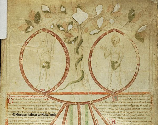 Compendium historiae in genealogia Christi, MS M.689 fol. 1r - Images from Medieval and Renaissance Manuscripts - The Morgan Library & Museum