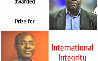 Angola & Kenya shares Allard Prize for International Integrity