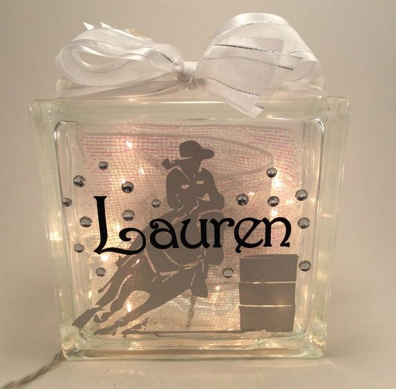 Barrel Racing GemLight...i don't really barrel race haha but it had my name on it and its kinda cool