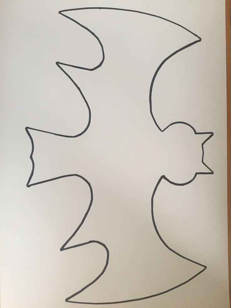 Premiers exercices de découpe simples, modèles d'impression, découpe   – Halloween Ideen mit Kindern