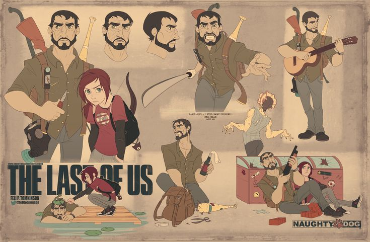 The Last Of Us - Joel by argentinaland.deviantart.com on @deviantART