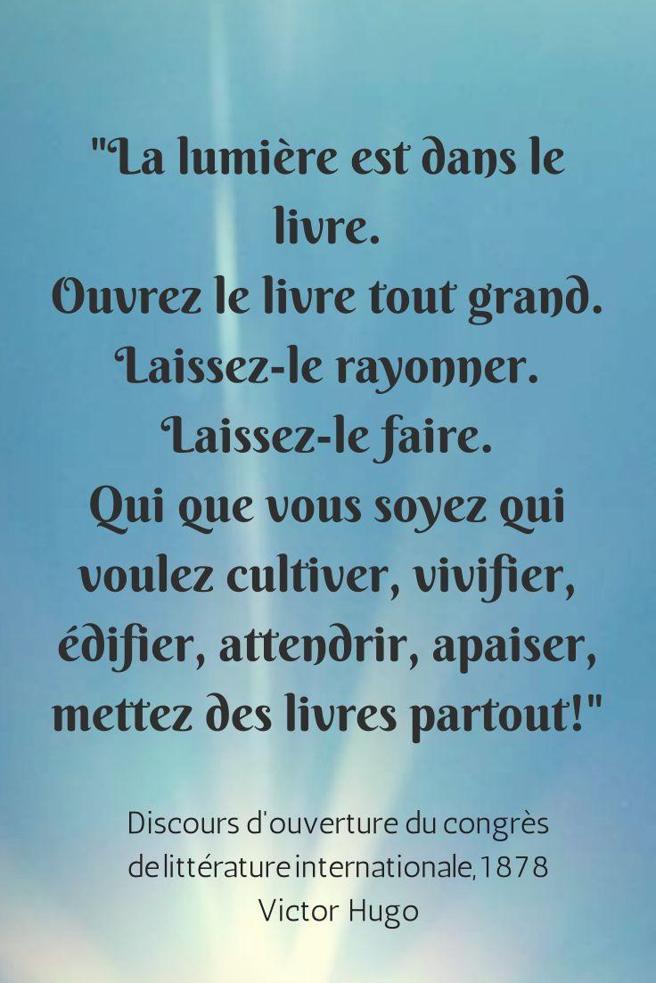 Le livre - Victor Hugo